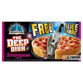 Chicago Town Deep Dish Twin Pack of Pizzas 98p @ Asda