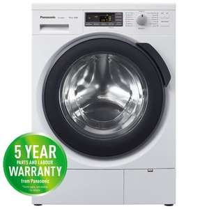 Panasonic NA168VG4WGB 8kg,1600 spin washing Machine £529.99 to £479.89 + £120 Cashback + 3% Quidco @ Electrical Discount UK