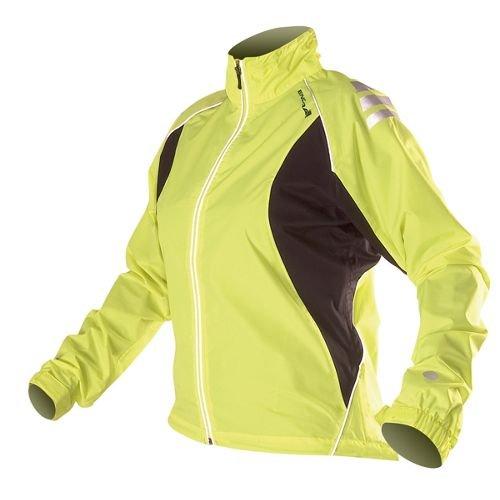Endura Womens Laser Waterproof Jacket mountain biking, commuter cycling hiviz, (mint or yellow) now £21.49 (XS,S,M,L) on chain reaction CRB