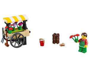 Lego flower wagon for only 1p! on lego.com (£3.95 P&P)  £4.01 delivered. at Lego