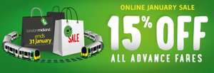 London Midland - 15% Off All Advance Fares 1-31 Jan 2015 (Travel By 28 Feb 2015)