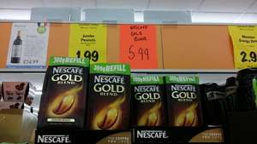 Nescafe Gold Blend 300g refill - £5.99 @ LIDL