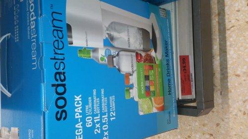 soda stream £34.99 @ sainsburys INSTORE