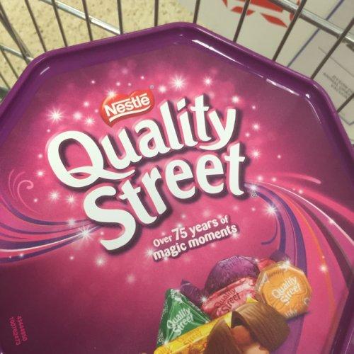 Nestle Quality Street 780g Tub  £2.50 Tesco