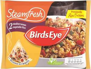 Birds Eye Steamfresh Mediterranean Vegetable Rice Mix (380g) was £1.79 now £1.00 @ Iceland & Sainsbury's