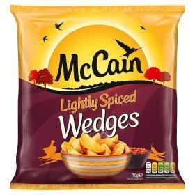 McCain Lightly Spiced Wedges (750g) ONLY 98p @ Asda