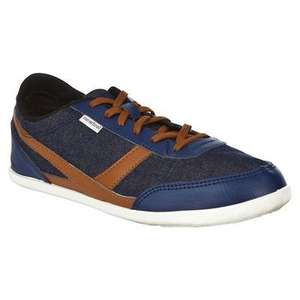 NEWFEEL Many shoes denim/brown from Decathlon. Was £8.99 and now £2.99. Only a few sizes left. Also 2 Years Guarantee. Reserve and Collect in store