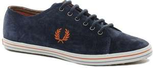 Fred Perry Kingston Suede Plimsoll £19.50 @ Fredsthreads