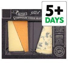Tesco Finest Farmhouse Cheese Selection £3 @ Tesco
