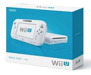 Wii U - 8GB Basic Pack - £139.00 - Tesco Direct (With Code) / (White Nintendo 3DS Xl with Super Mario 3D Land - £129.00)