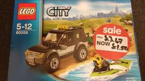 lego city 60058 £1.50 : ASDA (IN STORE)