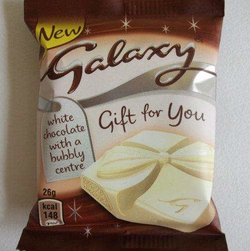 Galaxy white chocolate gift 16p @ Asda in store