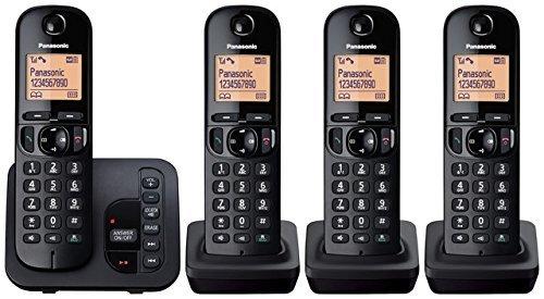 Panasonic KX-TGC224EB Digital Cordless Quad Phones £57 @ amazon