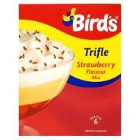 Birds  strawberry Trifle Mix 50p @ Asda
