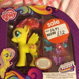 My little pony Fluttershy deluxe £2.75 @ Asda