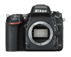 Nikon Full Frame D750 DSLR Body £1299 delivered @ Digitalrev.com