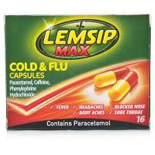 Lemsip max cold and flu, poundland £1
