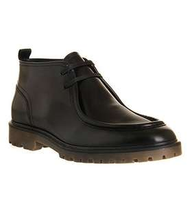 Ask the missus. School shoes maybe. Mens Apron shoe in black. £84.99 to £35. Office shoes.