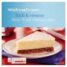 Waitrose New York Cheesecake 540g £1.99