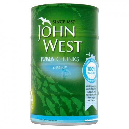 John West Tuna Chunks in Brine 4 x 160g £3 @ Morrisons