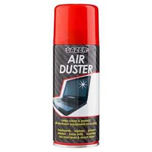 Air Duster (compressed air) £1 poundland (+refill hack +price compare)