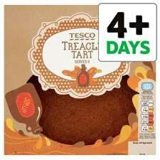 Tesco Treacle Tart / Apple Pie £2