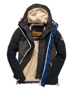 Superdry Atlantis Dock Jacket (half price ) £57.50 delivered @ superdry