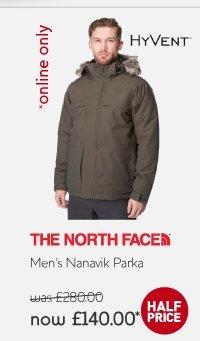 North Face Parker £140.00 @ Millets