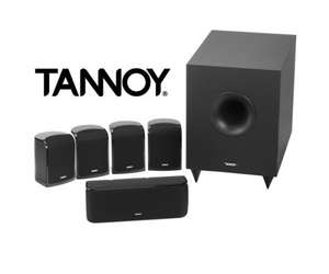 Tannoy TFX 5.1 Home Cinema Speaker System (black/white) 25 metres of Speaker Cable & 3 metre Sub Lead included £199.90 @ Peter Tyson