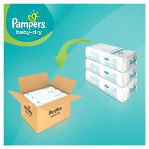 Pampers Baby Dry 174 pack  £20.23 @ Amazon