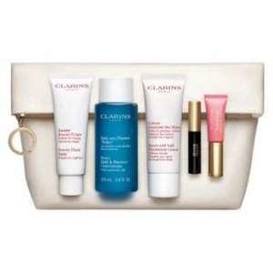 Clarins Skincare and Make-Up Collection 'Beauty Must-Haves' Gift Set inc. Beauty Flash Balm £20 @ Boots