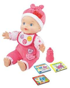 Vtech Little love baby talk interactive doll 16.23 @ amazon
