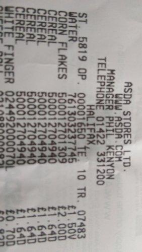 Kelloggs crunchy nut cornflakes 750g only £1.64 @ ASDA