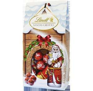 Lindt Santa Grotto Chocolate Gift Bag 110g £1.25 & Smarties Huge Tube 75p! @ Tesco
