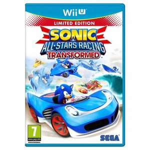 Sonic All Star Racing Transformed (Wii U) New £9.99 in store @ Smyths Toys
