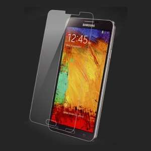 Super Strong Premium Tempered Glass Film Screen Protector for Samsung Galaxy Note 3 £1.75 @ TechSavers Ltd / Amazon