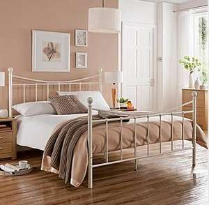 Single Metal Bedstead £40.10 with Delivery @ Home Essentials