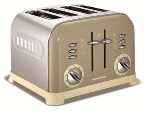Morphy Richards 4 Slice Toaster Barley £28 with Delivery @ Home Essentials