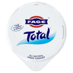 Fage Total Greek Yoghurt 500g - £2 in Sainsbury's £1.50 in Morrisons (normally £2.39)