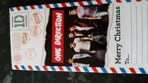 One direction /marvel chocolate with long best before date 38p  each @ Asda