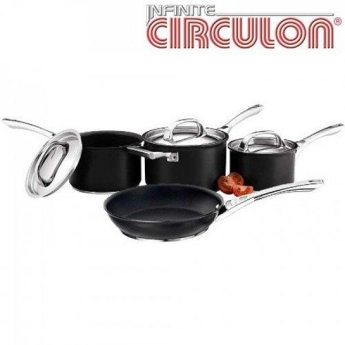 Circulon Infinite 4 piece pan set - lifetime guarantee £118.00 @ Housemakers
