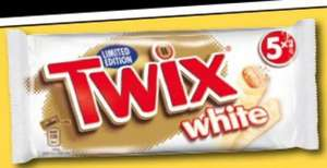 5 pack 2 finger White limited edition twix 99p @ 99p stores