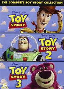 The Complete Toy Story Collection: Toy Story / Toy Story 2 / Toy Story 3 [DVD] £9.99 at Amazon (£1.49 P&P /  free delivery £10 spend/prime)