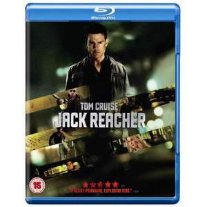 Jack Reacher (Blu-ray) £5.00 delivered (or Collect In-Store) @ ASDA