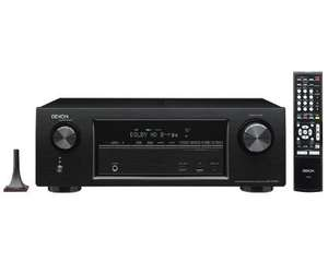 DENON AVR-X1100W 7.2 Channel Full 4K Ultra HD A/V Receiver with Bluetooth & WIFI £239.90 + free JBL MS-2 Car Audio Optimiser @ HomeAV direct  (check links in comments)