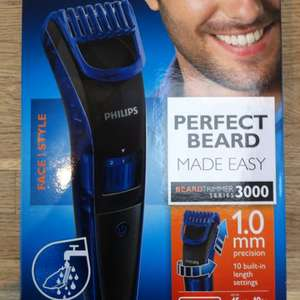 Philips Beard Trimmer 3000 series was £30 now £15 @ Boots