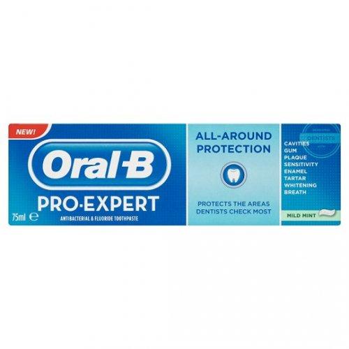 Oral B Proexpert All Around Mild/clean Mint 75Ml (half price) £1.75 @ tesco direct (in-store also)