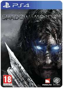 Middle Earth: Shadow Of Mordor Special Edition for PS4 (Pre Owned) £24.99 @ Game