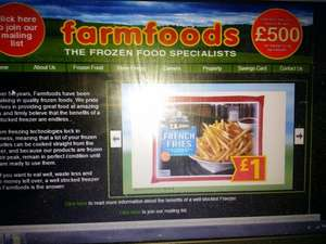 2kg French Fries for £1.00 @ Farmfoods