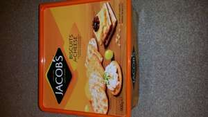 Jacobs 900g box crackers £8 down to £1.50 @ tesco in store